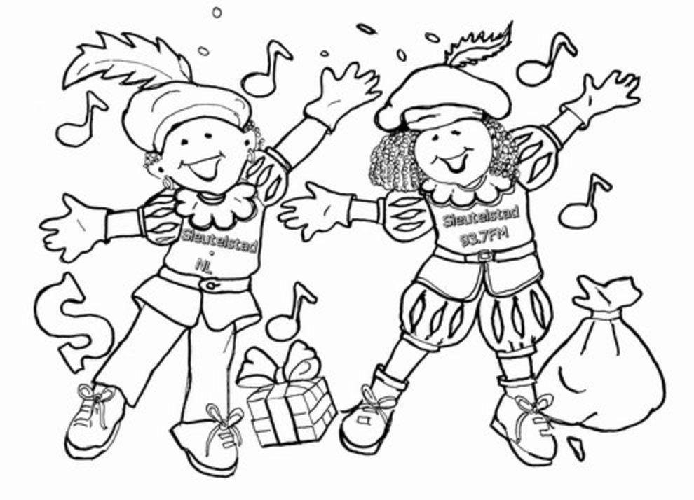Sinterklaas Kleurplaat Voor En Prijs Sinterklaas Kleurplaat Sleutelstad Sleutelstad Nl