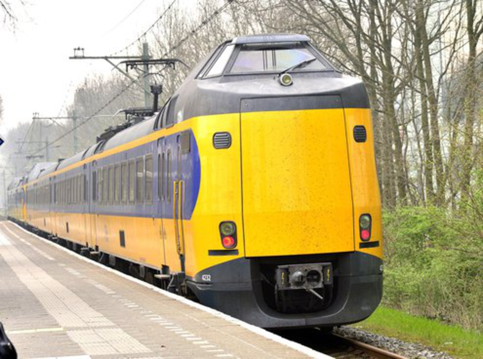 Afbeeldingsresultaat voor trein alphen leiden