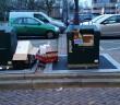 Ondergrondse afvalcontainer