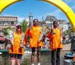 Winnaars bij de vrouwen 2014 Leiden Marathon