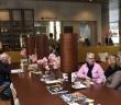 Nederland, Leiden, 08 april 2015, Museum cafe, Nationaal Museum van Wereldculturen NMVW / Rijksmuseum Volkenkunde te Leiden Foto; Peter Hilz