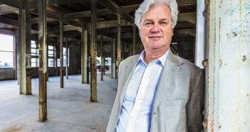 Ab van der Wiel, eigenaar meelfabriek Leiden