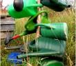 vrij groen gieters Natascha van den Bosch