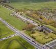 luchtfoto Vrouwenweg en oostvlietpolder